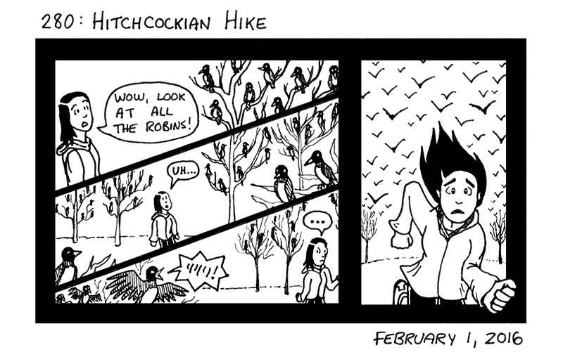 Hitchcockian Hike