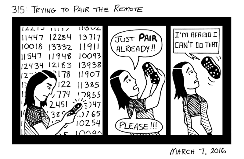 Trying To Pair The Remote