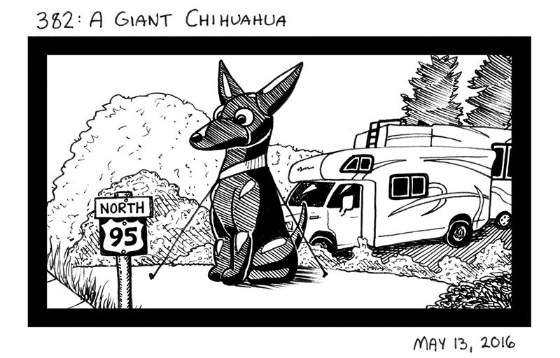 A Giant Chihuahua