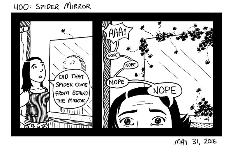 Spider Mirror