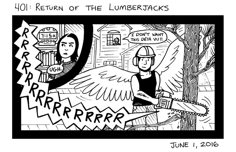 Return Of The Lumberjacks