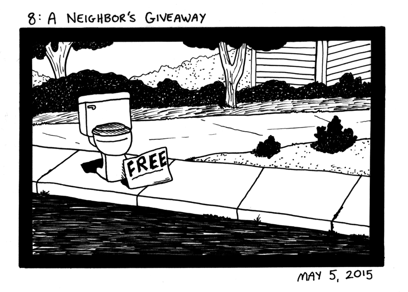 A Neighbor's Giveaway