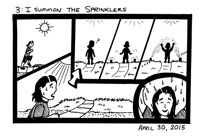 I Summon The Sprinklers