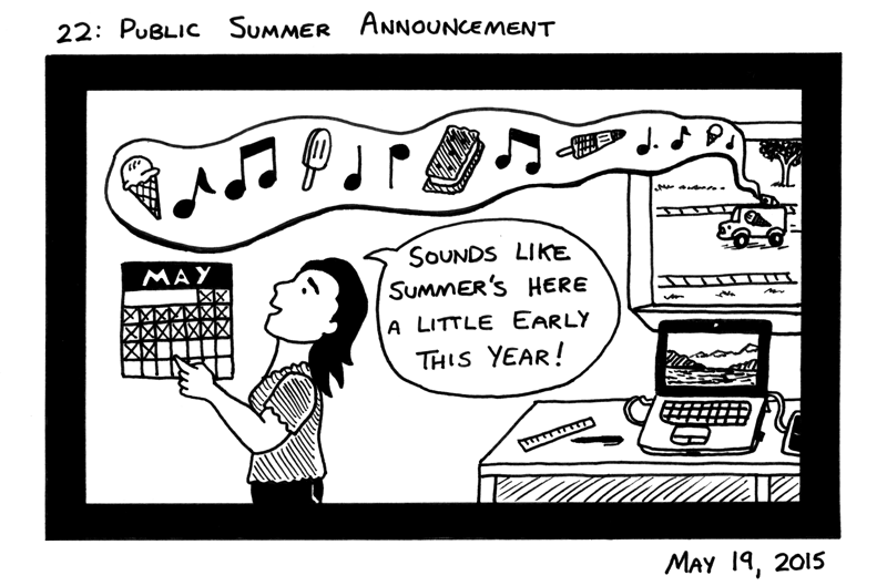 Public Summer Announcement