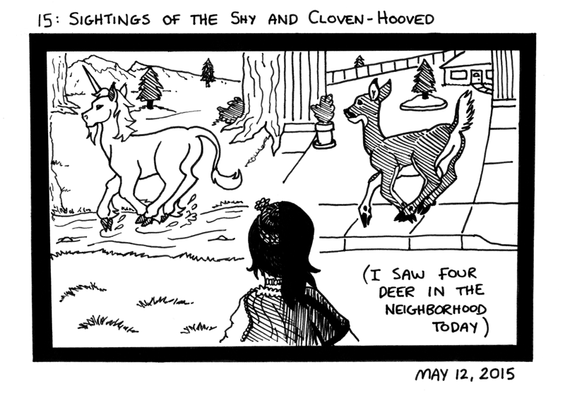 Sightings of the Shy and Cloven-Hooved