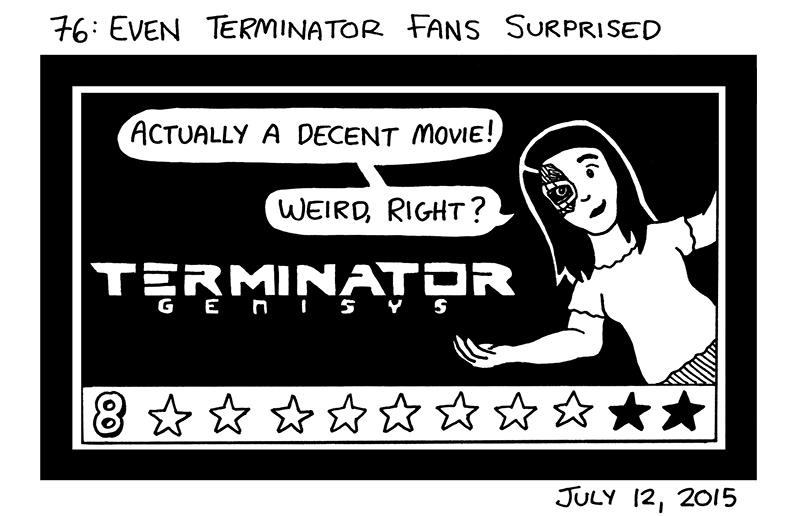 Even Terminator Fans Surprised