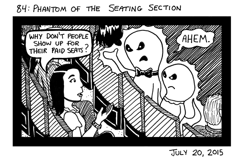 Phantom of the Seating Section