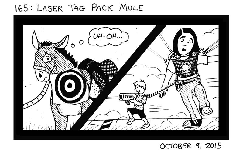 Laser Tag Pack Mule